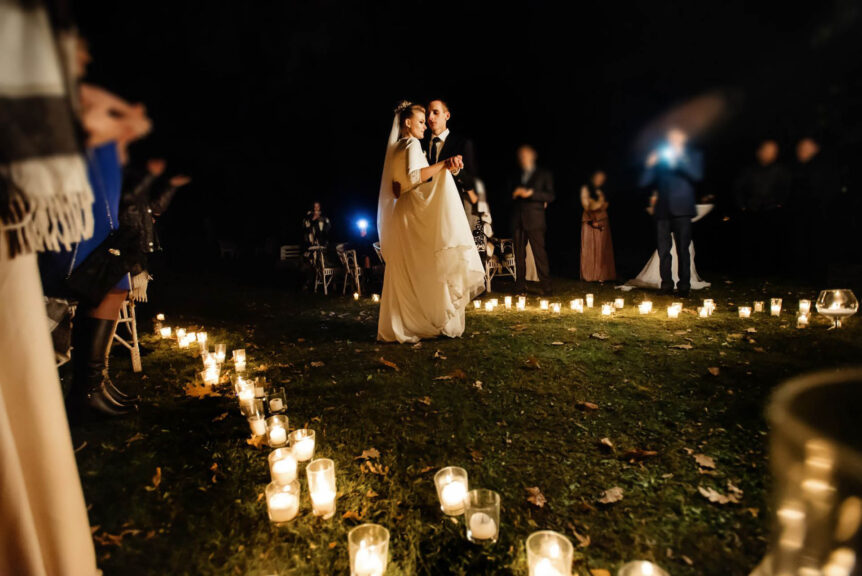 The Old Rectory Handsworth Evening Wedding Venues in Sheffield first dance