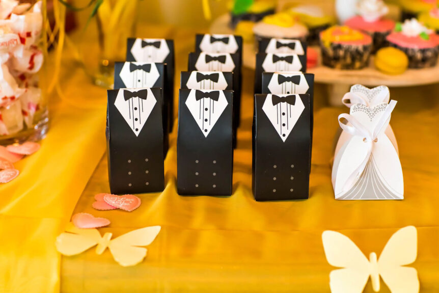 The Old Rectory Handsworth Wedding Venues in Sheffield Wedding Favours